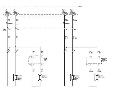 2008 Chevy Silverado 1500 Speaker Wiring Diagram by I A 2007 Silverado With A Factory Radio Cd Player