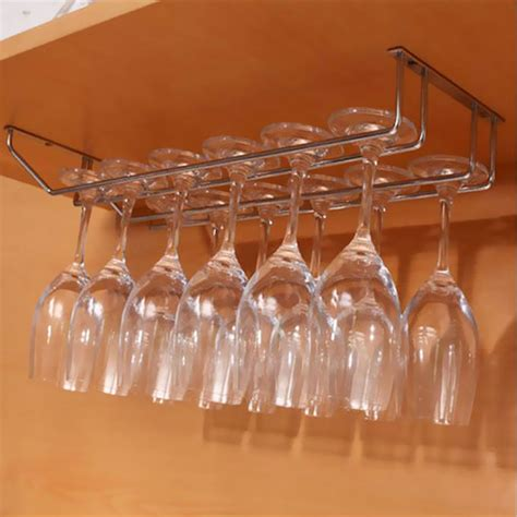 wine glass cabinet rack under cabinet wall wine rack storage organizer stainless