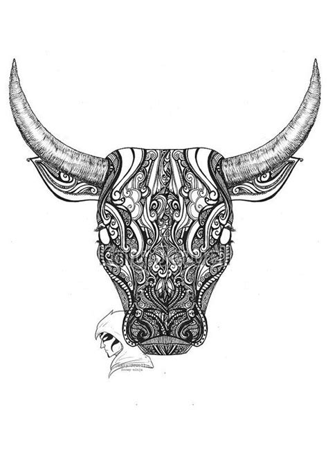63 best images about Bull Tattoo on Pinterest | Logo design, Geometric animal and Origami