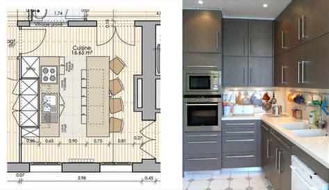 plan amenagement cuisine 10m2 comment amenager cuisine 7m2