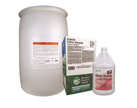 Citrus Assault Degreaser Chemicals