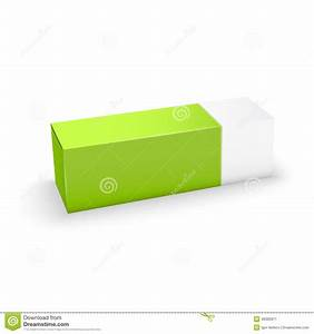 Package White And Green Box Design Stock Vector ...