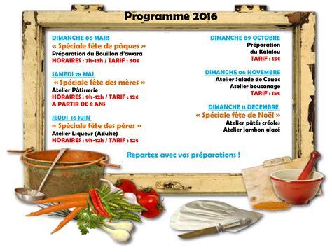 programme de cuisine initiation à la gastronomie locale escapade carbet