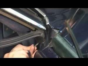 How to install quarter window leading edge, lock pillar