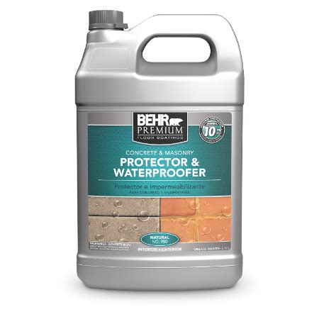 waterproofer protector  concrete masonry behr