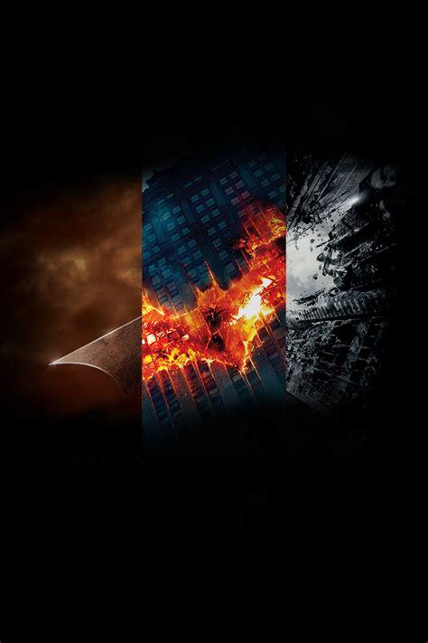 batman trilogy posters combined pics