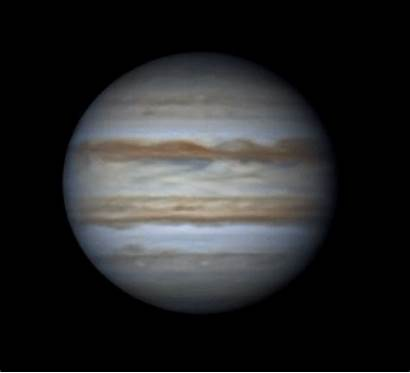 Jupiter Saturn April Mars Animation Cloudy