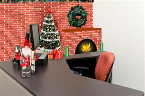 decorate your desk for christmas ideas for christmas cubicle decorations christmas