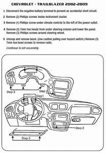 2003 Chevrolet Trailblazer Installation Parts  Harness