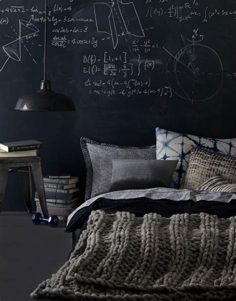 chalkboard wall in bedroom 25 cool chalkboard bedroom d 233 cor ideas to rock interior decorating and home design ideas