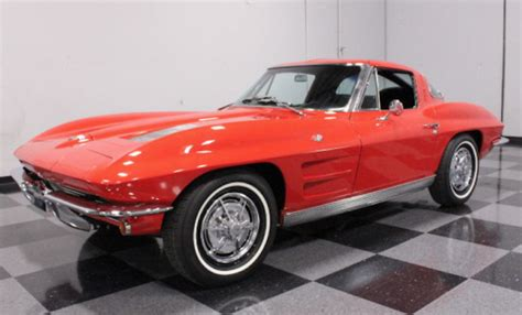 car of the day classic car for sale 1963 chevrolet corvette coupe split window