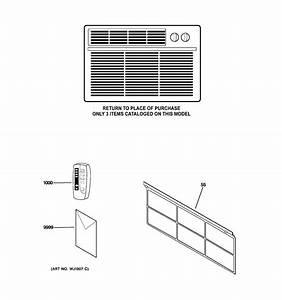 Ge Asw06lks1 Room Air Conditioner Parts