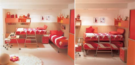 two bed bedroom ideas cool and ergonomic bedroom ideas for two children by dearkids digsdigs