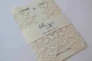 beautiful wedding announcements laser cut wedding invitations ivory laser cut wedding invitation beautiful wedding invitation