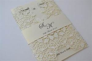 laser cut wedding invitations ivory laser cut wedding With how much are laser cut wedding invitations