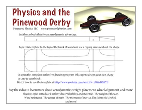 free pinewood derby car templates extras free downloads success stories and links to other pinewood derby resource