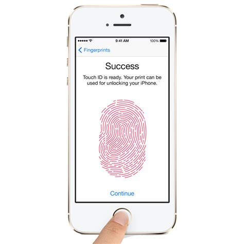 iphone 5s fingerprint about touch id fingerprint sensor security on the iphone