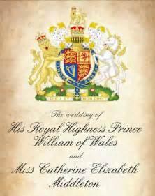 royal wedding invitation zedulot kate and william royal wedding invitation