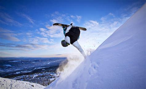 Extreme Snow Snowboarding Sports Winter Landscapes Man