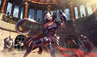 Warrior Knight Fantasy Woman 4k Gladiators Gladiator