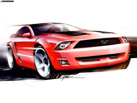 2018 Ford Mustang Gt Coupe Concept