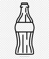 Soda Bottle Colorear Para Dibujo Refresco Coloring Clipart Transparent sketch template