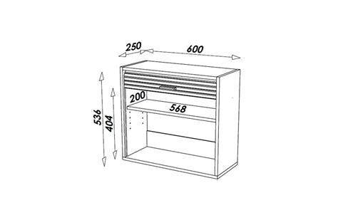 rideau de cuisine en petit meuble de cuisine aluminium avec rideau déroulant 60