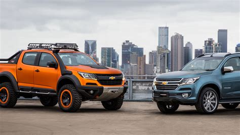 Chevrolet Colorado 4k Wallpapers by Wallpaper Chevrolet Colorado Xtreme Trailblazer Premier