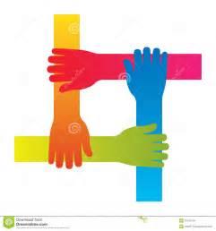 Teamwork Hands Icon