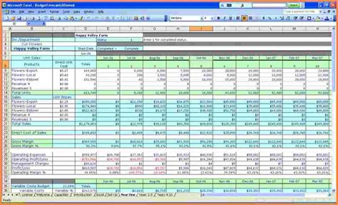 small business income  expenses spreadsheet excel