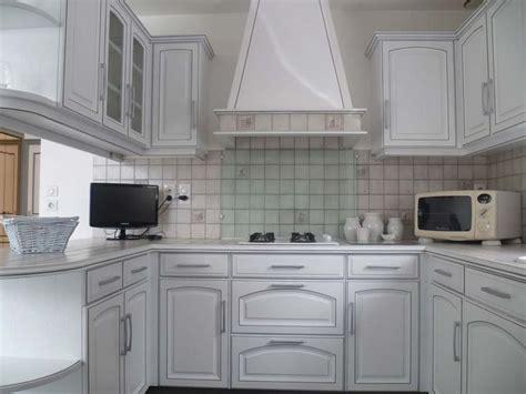 cuisine peinte en vert davaus cuisine chene peinte en blanc avec des