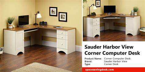 sauder harbor view corner computer desk sauder harbor view corner computer desk review space