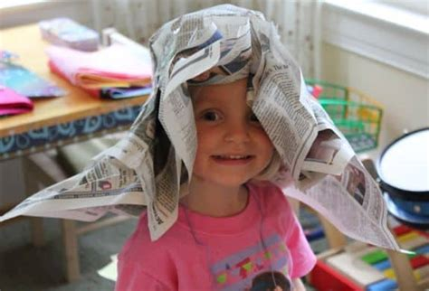 diy newspaper derby hat  kids helloglowco