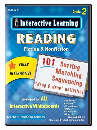 Interactive Learning Reading Fiction Grade Nonfiction Teacher