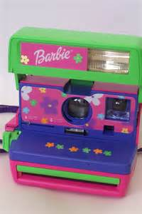 Barbie Pink Polaroid Camera
