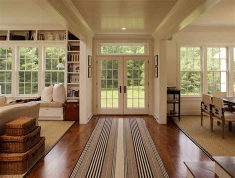 beautiful farmhouse interiors contemporary farmhouse west stockbridge ma pamela sandler aia architect like the stripe rug