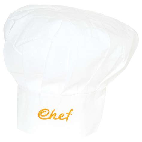 femme a la cuisine toque de chef cuisinier accessoires blanc kiabi 4 50