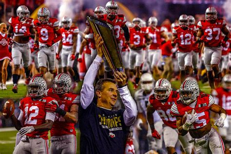 Ohio State Buckeyes OSU 3 NCAA Football National Champions ...