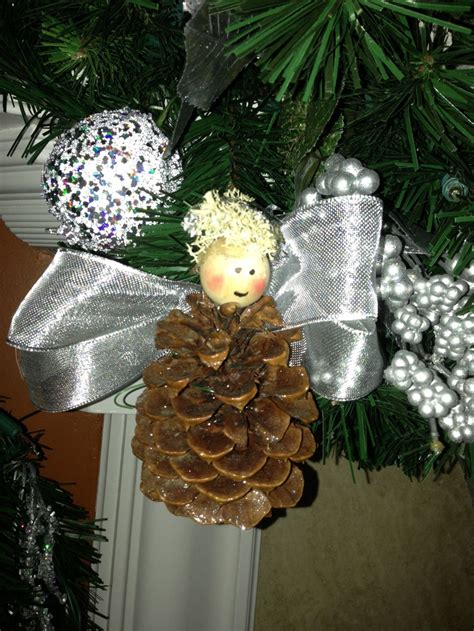 pine cone ornaments christmas crafts pinterest