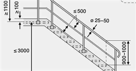 altezza corrimano scale norma sia 358 ringhiere e parapetti