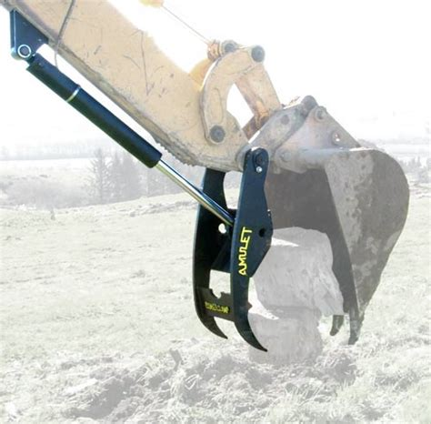 powerclamp hydraulic thumb nonlink fits  models amupcn  equipmentland