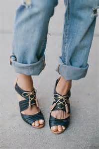 Boyfriend Jeans and Shoes