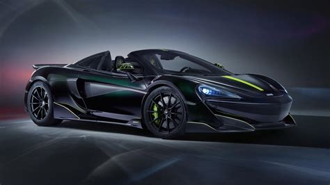 Spider-Themed McLaren 600LT Spider Has A Hauntingly Cool Look