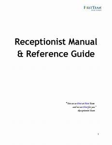 Receptionist Manual And Reference Guide By Stephanie Ayers