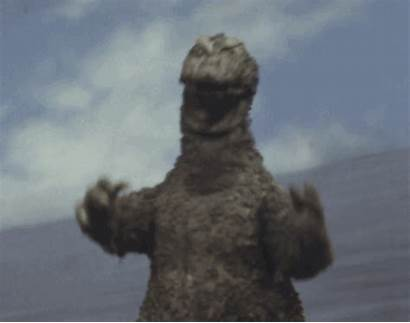 Godzilla Monster Headed Three Ghidorah Gifs 1964