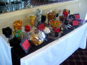 Wedding Reception Candy Table Ideas