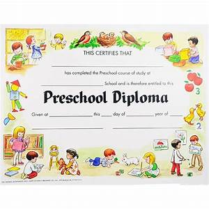 preschool graduation certificates unique preschool With pre k award certificate templates