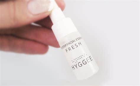 review  hyggee  step facial essence fresh  korea