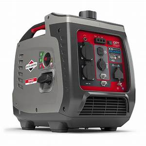 2400 Watt Briggs  U0026 Stratton Inverter Generator  U2013 P2400