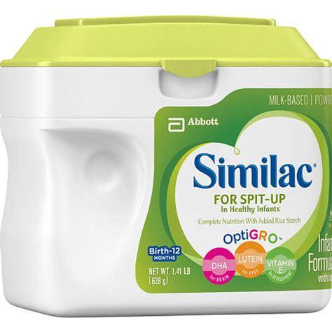 Similac For Spit Up Infant Formula